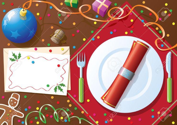 3706865-christmas-dinner-table-stock-vector